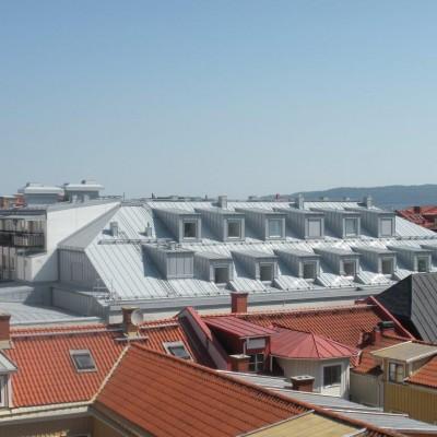 Kv Andelen. Påbyggnad av 38 studentlägenheter 2012